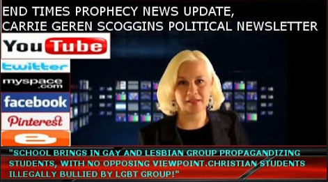 Carrie Geren Scoggins, End Times Prophecy News Update YouTube Webcast, Tennessee Times News Twitter