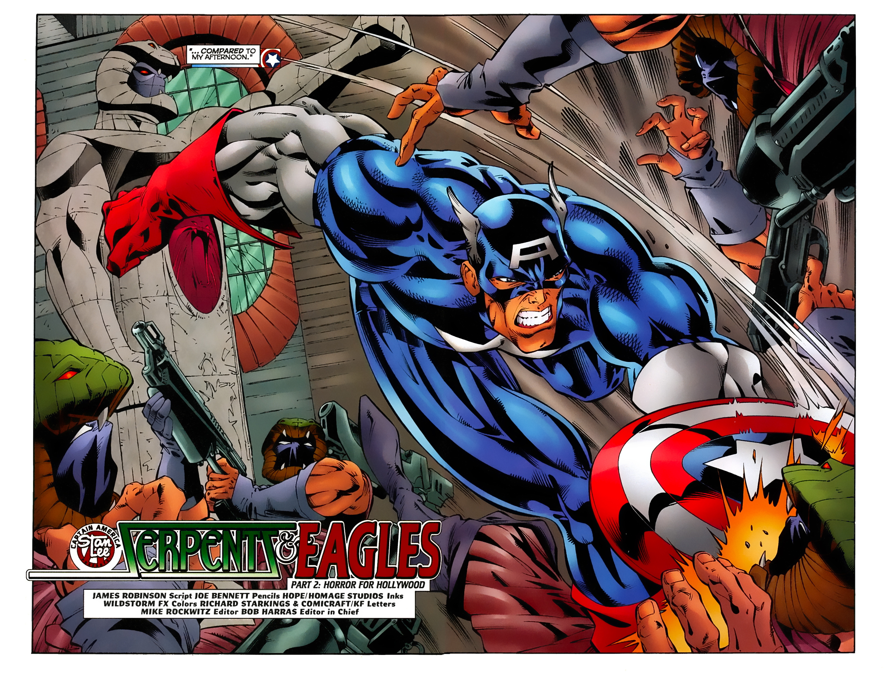 Captain America (1996) Issue #9 #9 - English 3