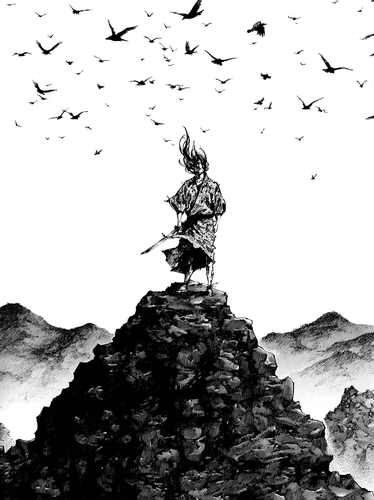 佐々木小次郎モノクロ岩