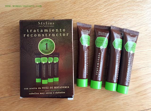 Stylus tratamiento reconstructor elixir macadamia Mercadona