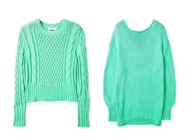 Пуловер Цвета Мяты С Доставкой