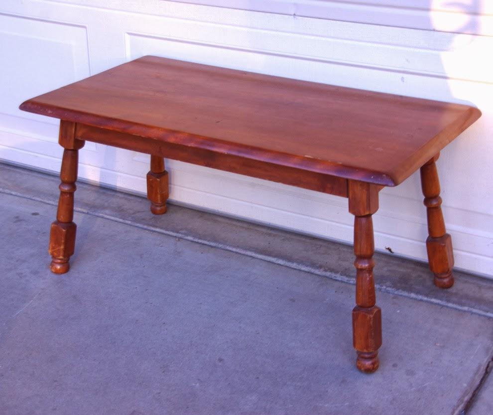 Vintage Mid Century Coffee Table Hawaiian Koa Wood By: Finders Keepers: SOLD 1950s Solid Wood Coffee Table