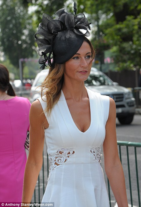 lovely black and white outfit on Ladies' Day of Royal Ascot 2014