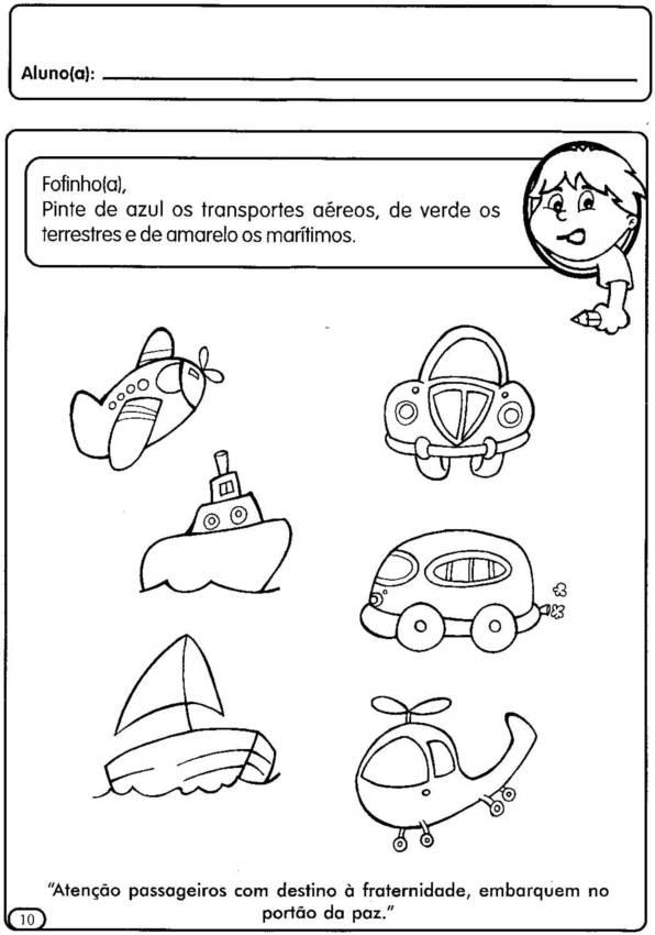Favoritos blog Dona Amiguinha: Projeto transito- Educação Infantil IL34