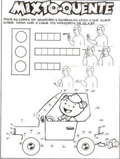 atividades escolares crisandrea trÂnsito