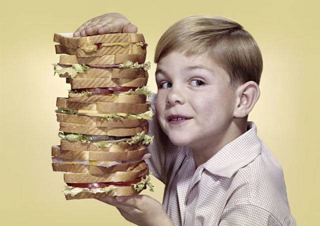 Por TI haría el sandwich más grande del mundo.