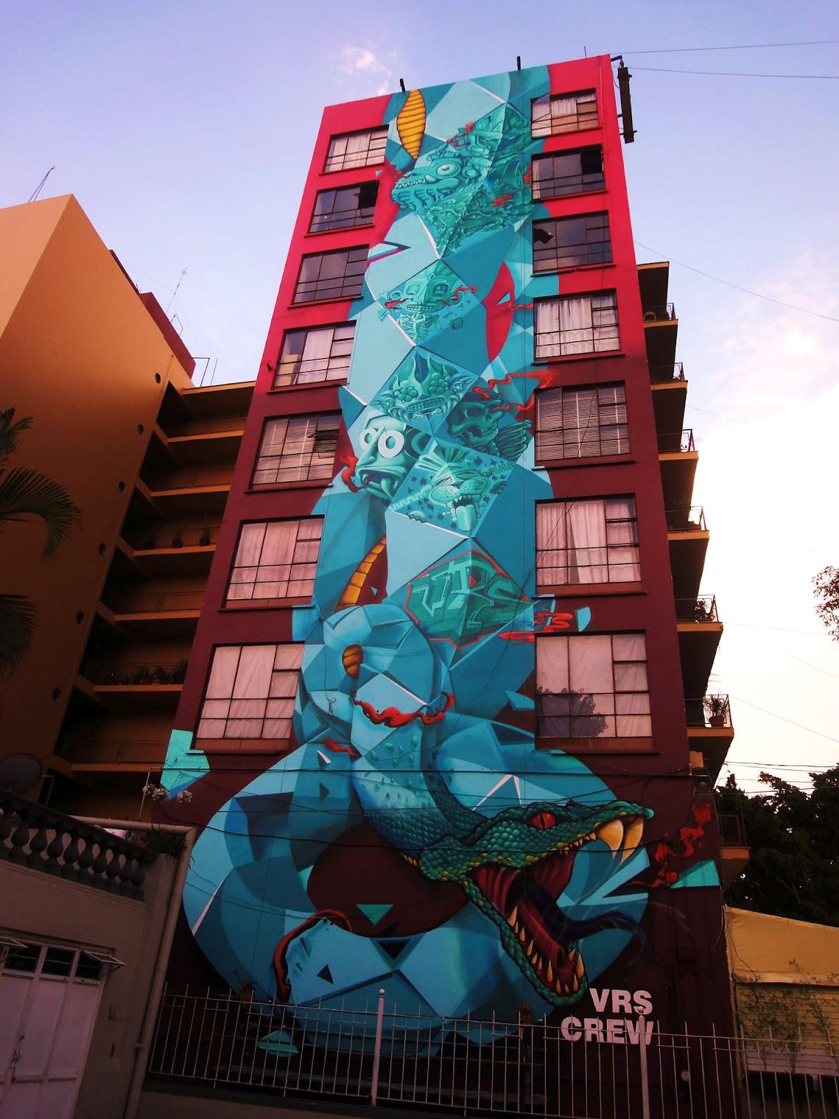 Fixe x vrs crew new mural in guadalajara mexico for Aviso de ocasion mural guadalajara