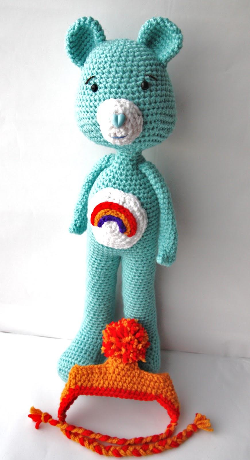 Crochet Care Bear Hat Pattern ~ Dancox for .