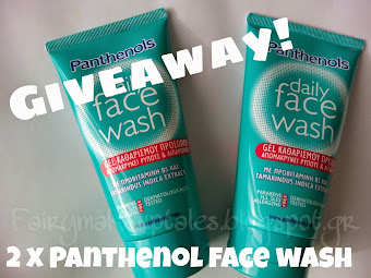 2 Panthenol Face Wash for you Fairies!!