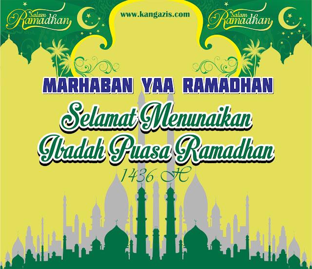 Ucapan Marhaban Yaa Ramadhan