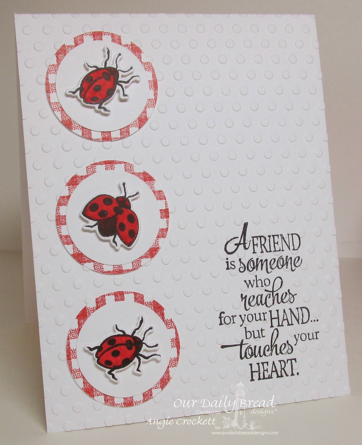 Body Mind Spirit and STAMPS Ladybug Birthday Card – Ladybug Birthday Cards