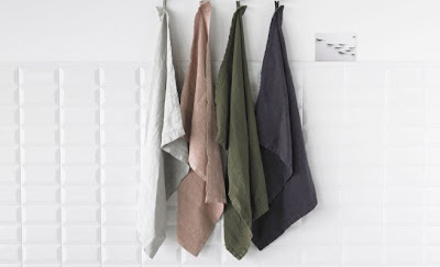 linen tea towels by Society Limonata