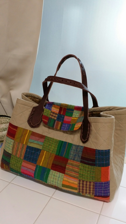 Quilting Patchwork Bag Tutorial. Сумка пэчворк ~ DIY ...