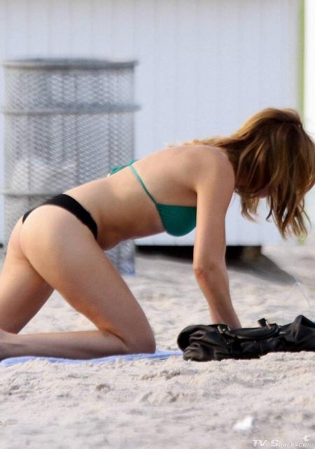 Malin Akerman, Actress,Travel in Miami,Miami Beach