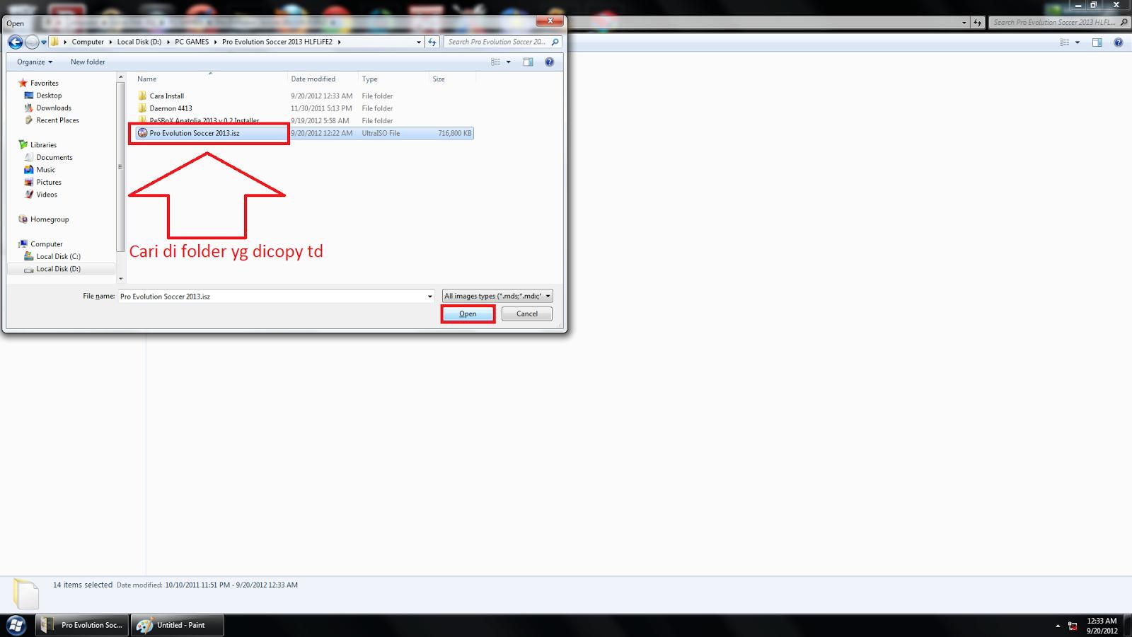 Cara Install Pes 2013 Dengan Daemon Tools | Xenda PC Games™