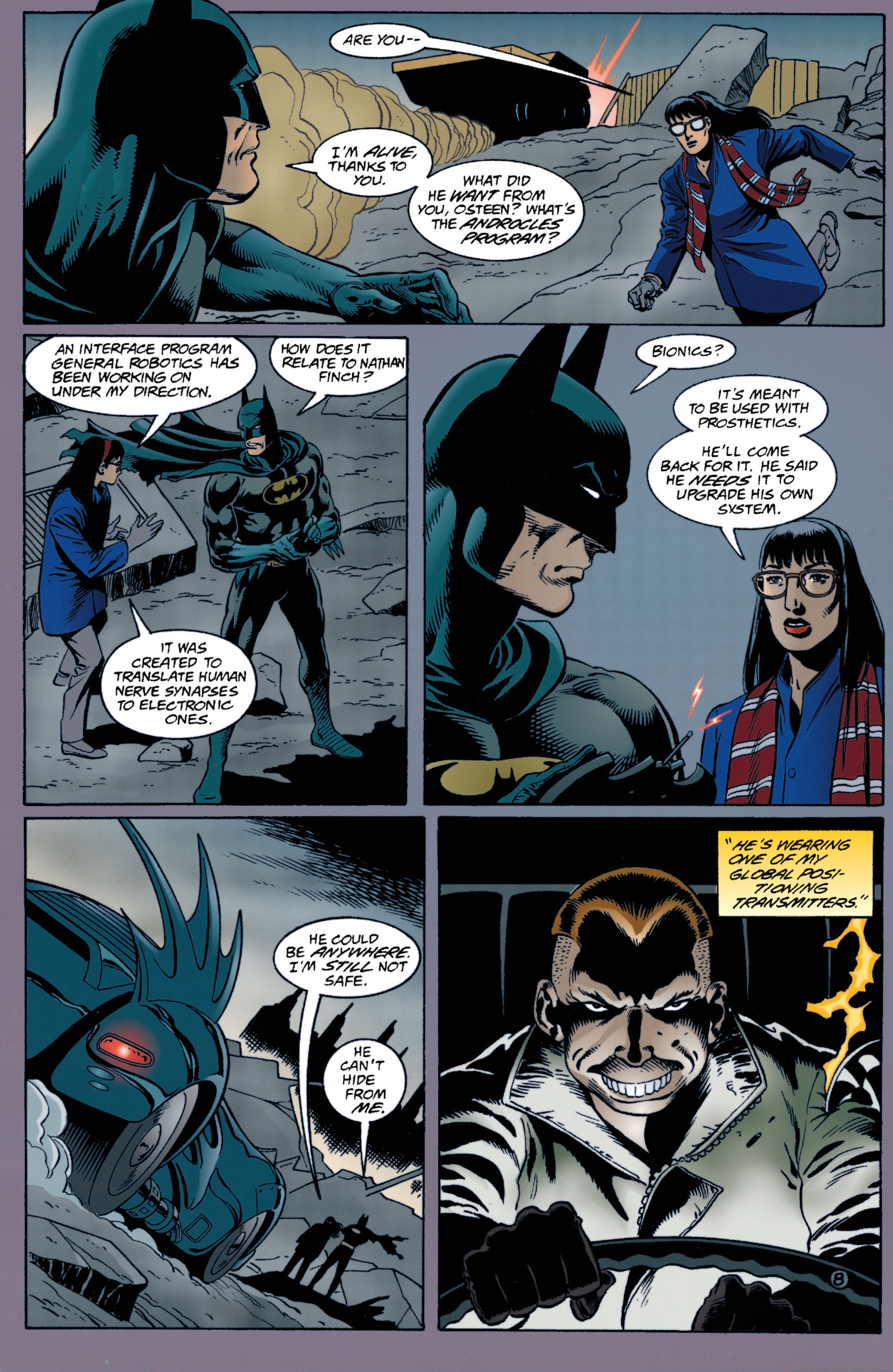 Detective Comics (1937) Issue #713 Page 9