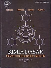 toko buku rahma: buku KIMIA DASAR PRINSIP-PRINSIP DAN APLIKASI MODERN EDISI 9 JILID 1, pengarang petrucci, penerbit erlangga