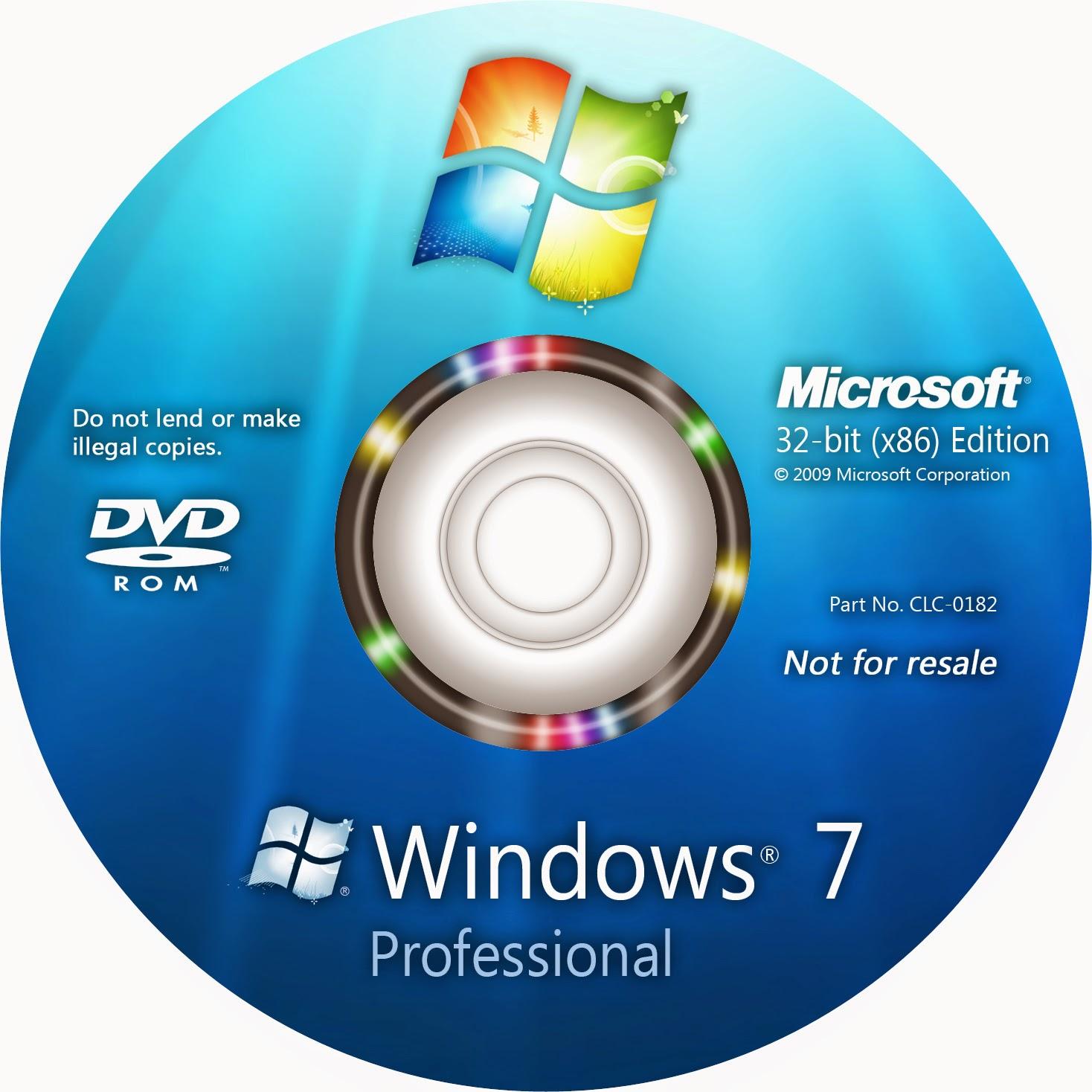 descargar windows 7 professional 32 bits mas activador