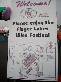 NY Finger Lakes Wine Festival 2012