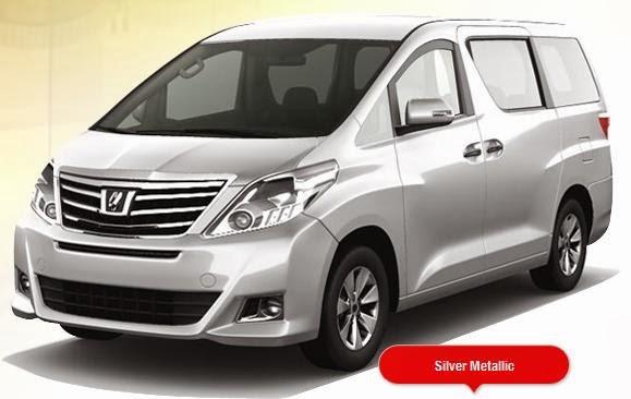 Harga Toyota Alphard Terbaru OTR Jakarta 2014