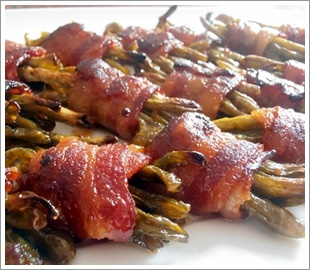 Sweet Green Bean Bacon Bundles