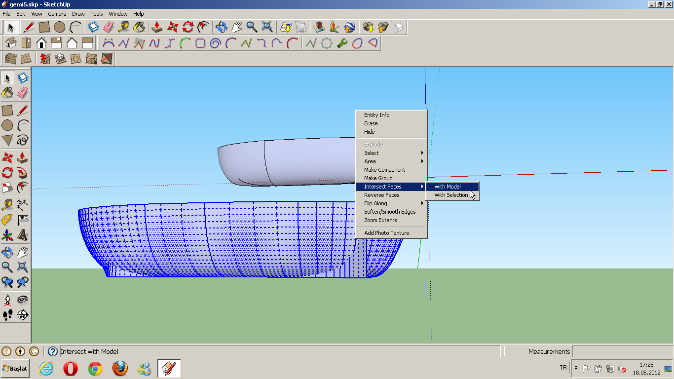 sketchup how to create proxy