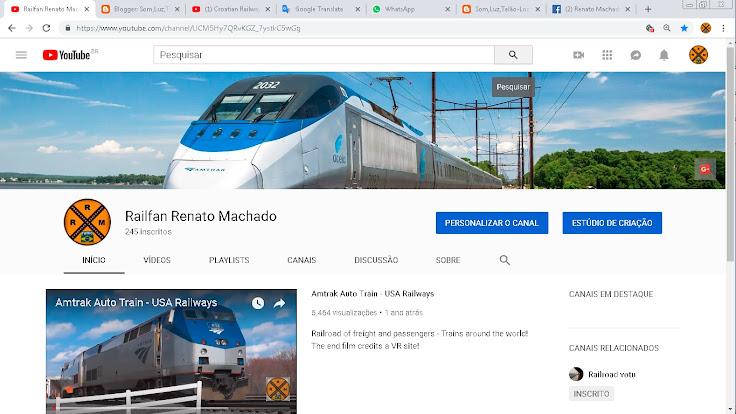 Channel RRM Railfan Renato Machado - YouTube