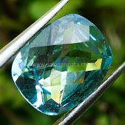 Batu Permata Topaz Blue- SP848