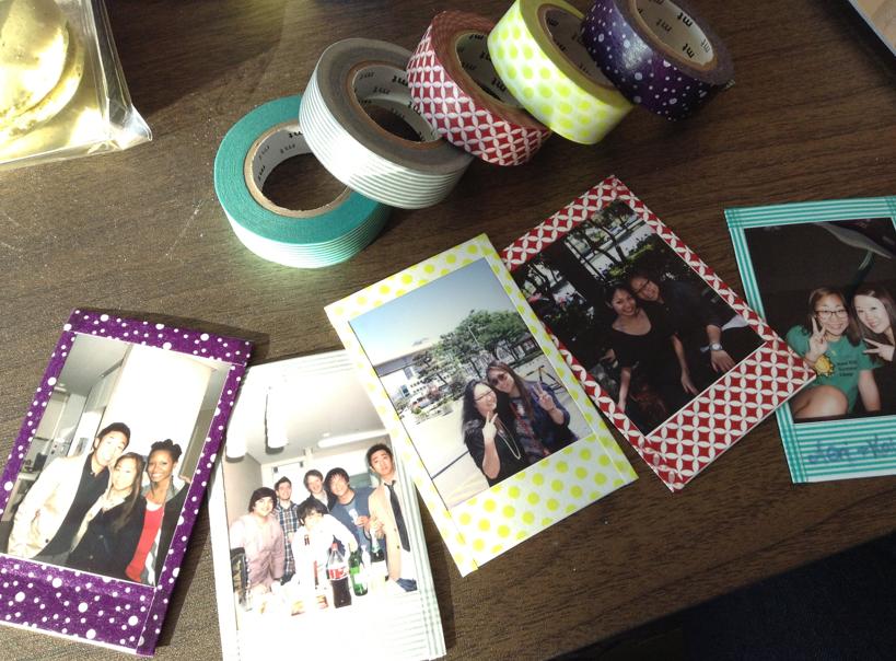 The Indefinite Life Diy Polaroid Picture Frames