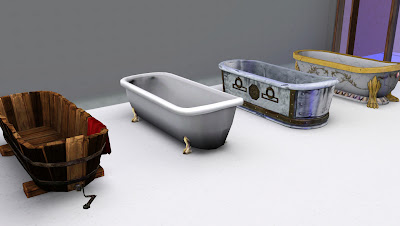 Sims Medieval Bathtub Conversions by Omega Star Screenshot-28
