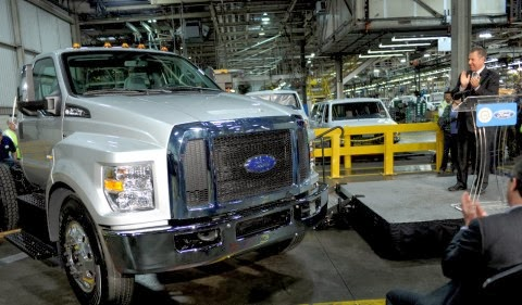 2016 F-650/F-750 Production Shifting to Ohio Plant