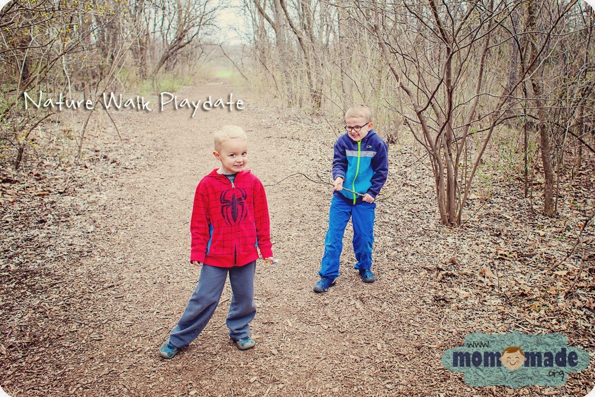 Nature Walk Playdate | Mom-Made