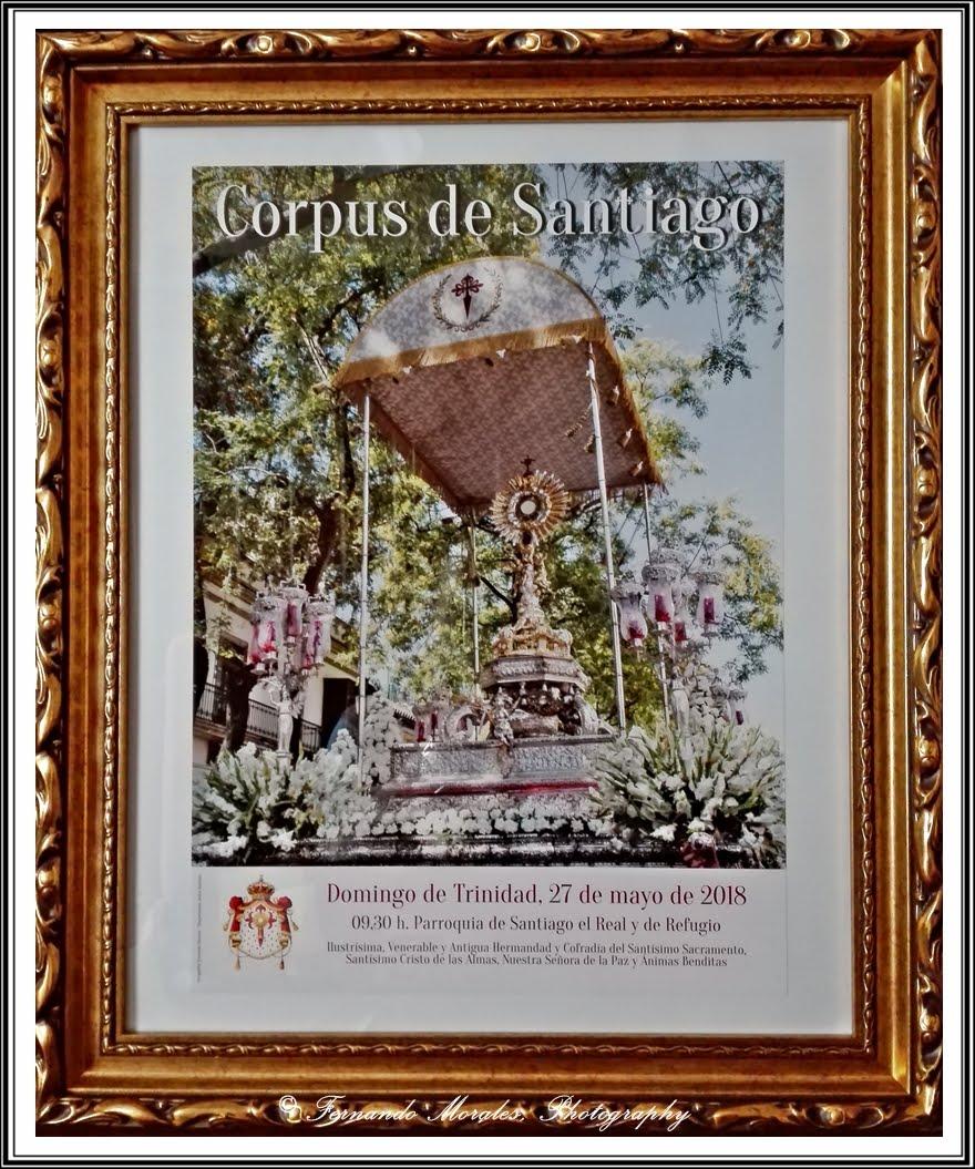CARTEL OFICIAL CORPUS SANTIAGO 2018