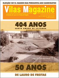 Vilas Magazine | Ed 163 | Agosto de 2012 | 30 mil exemplares