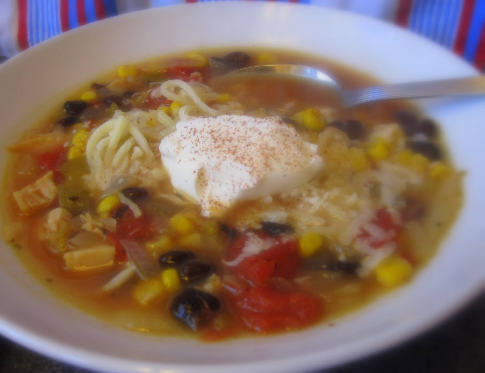 Daily*Dishin: Ultimate Tortilla Soup