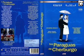 Cover, dvd, caratula: Los paraguas de Cherburgo   1964