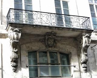 Balcon 101 rue de Richelieu à Paris