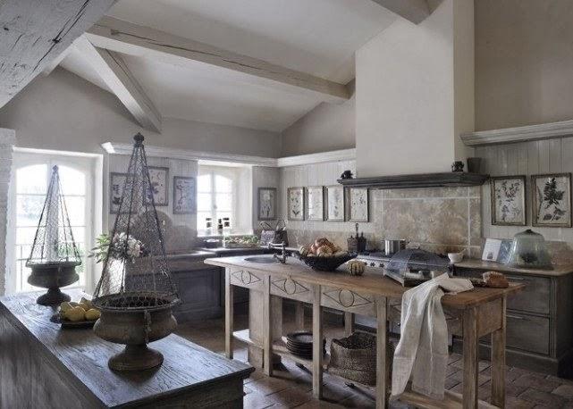 Deco estilo r stico en la cocina virlova style - Cocinas rusticas de campo ...