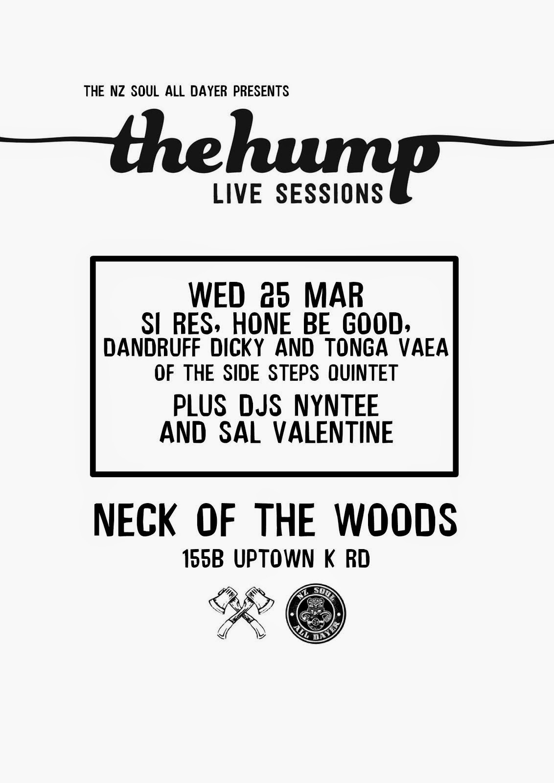 Next The Hump Live Event: