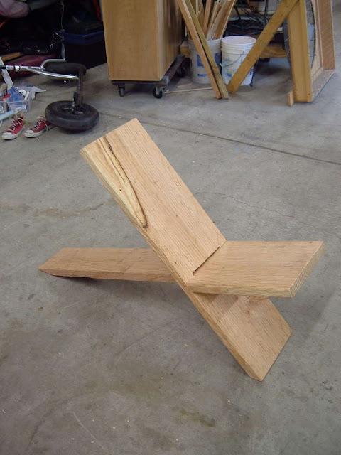Construir sillas de madera caseras