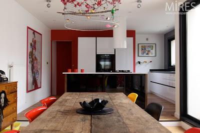 Decoraci n de interiores vintage con mucho color for Colores interiores de casa 2016