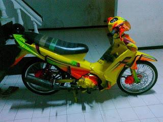 Gambar Modifikasi Motor VEGA R 2013 title=
