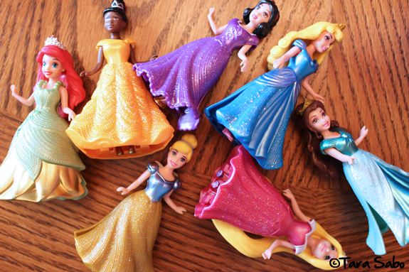 princesses, the little mermaid, beauty and the beast, cinderella, sleeping beauty, toddler toys, doll collection