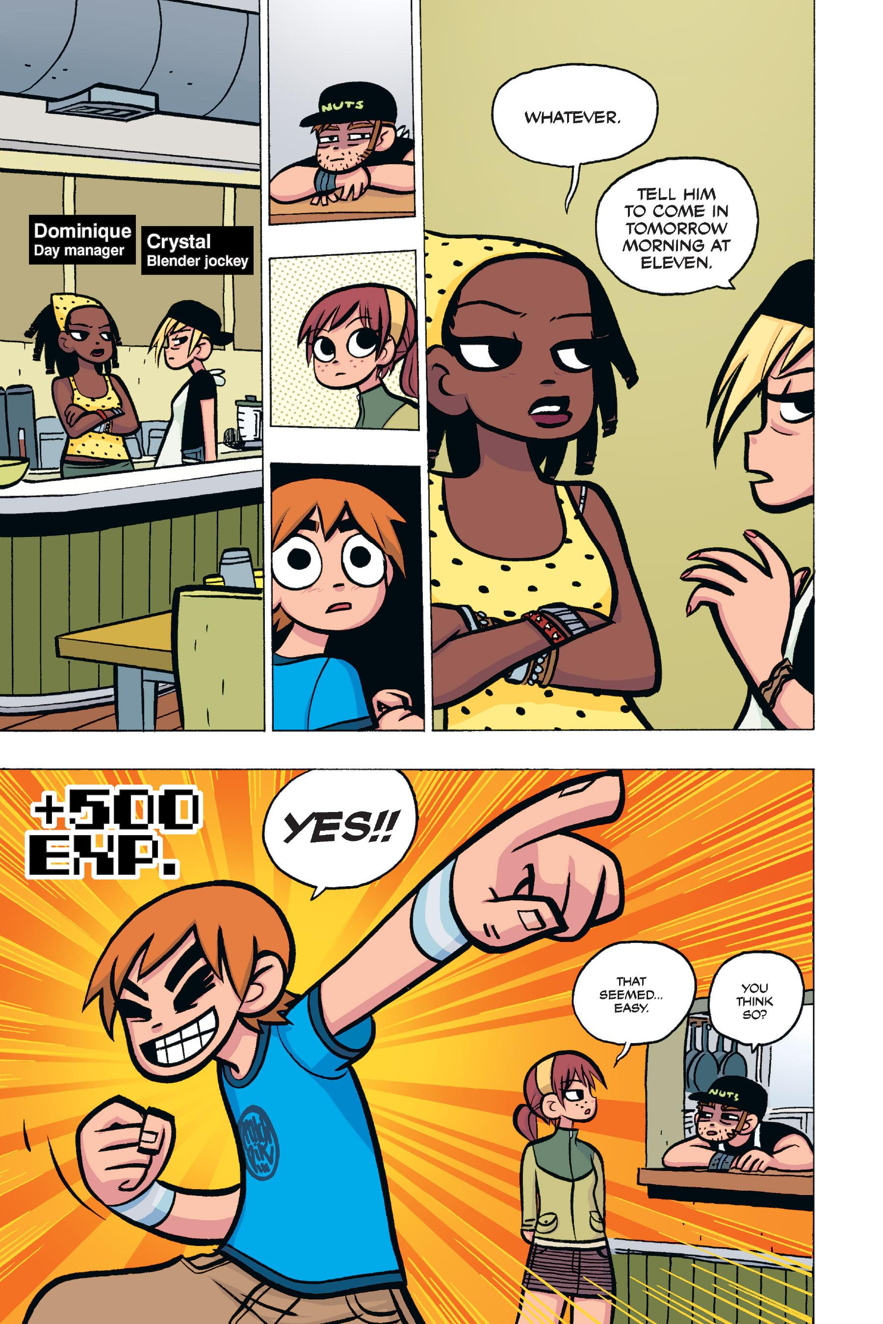 Read online Scott Pilgrim comic -  Issue #4 - 65