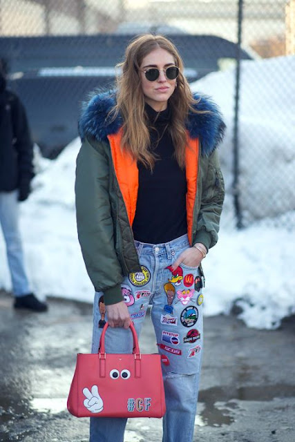Parches y pins Chiara Ferragni
