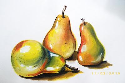 Alat Bantu Mengajar - Lukisan dan Catan Buah-buahan