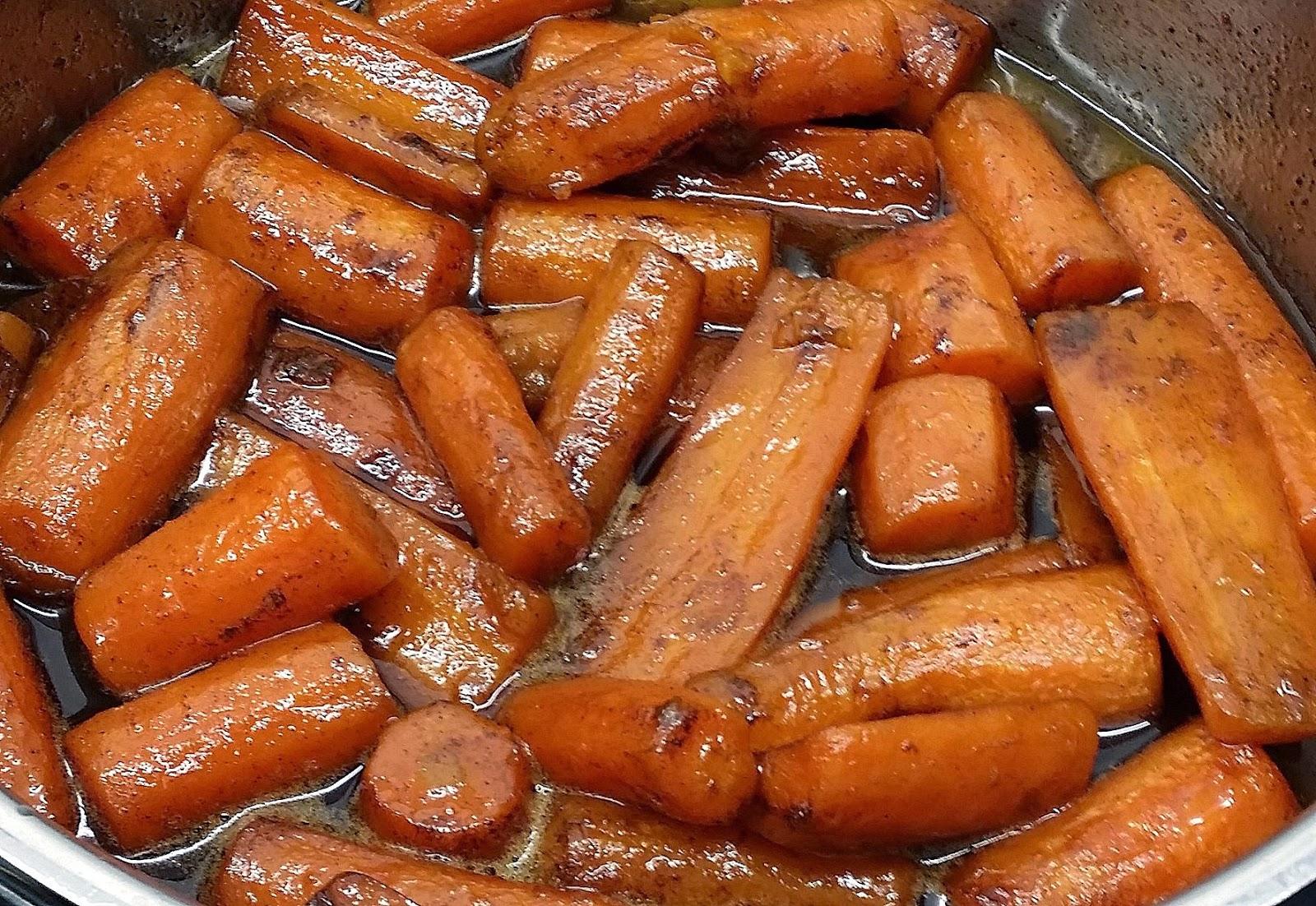 Brændt gulerodsmos