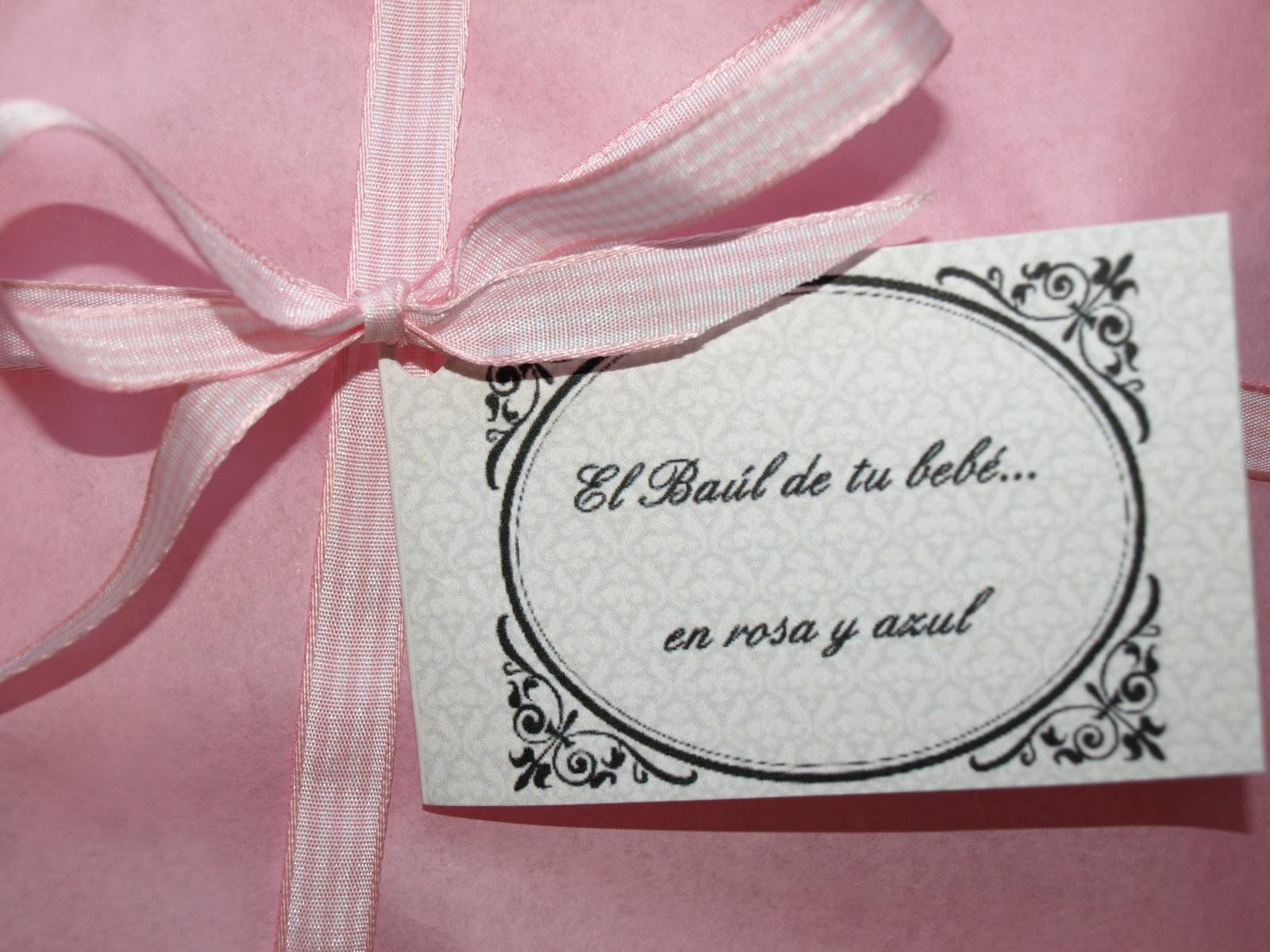 el ba l de tu beb en rosa y azul tus regalos en