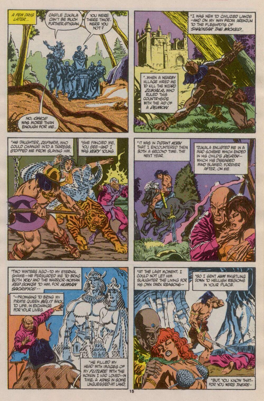 Conan the Barbarian (1970) Issue #241 #253 - English 12