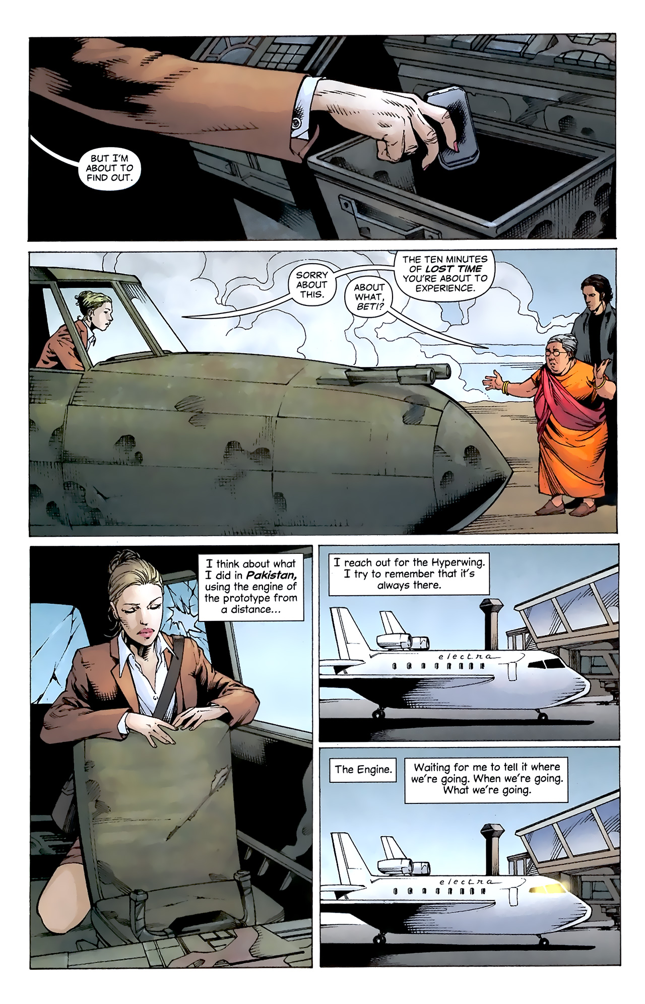 Read online Air comic -  Issue #20 - 17